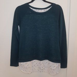 Twik – Sweater with integrated shirt